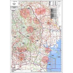 Harta VFR Romania -...