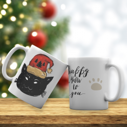 Happy Meow To You Ceramic Mug