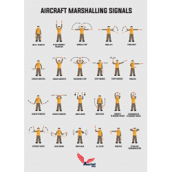 Air Marshalling Signals poster